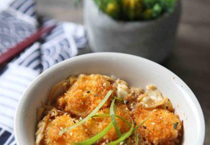 tofu katsudon